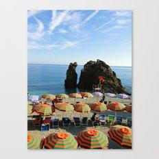 Monterosso al Mare B Canvas Print