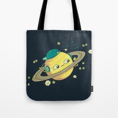 DJ Saturn Tote Bag