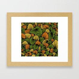 Happy abstract: Jungle Nr:01 Framed Art Print