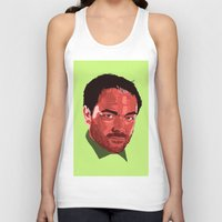 crowley Tank Tops featuring Crowley Vector by Evelyn Denise