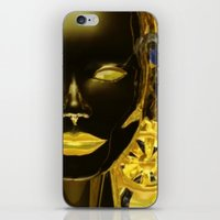 android iPhone & iPod Skins featuring Android Clockwork by Magmata
