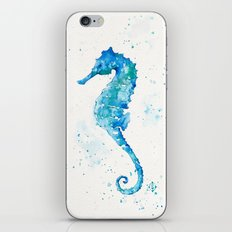 Sailing Along (Seahorse) iPhone & iPod Skin