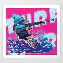 TURF WAR! Splatoon Art Print