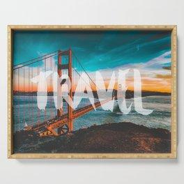TRAVEL San Francisco Serving Tray