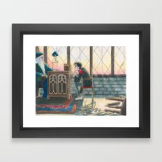Enough Responsibility Framed Art Print