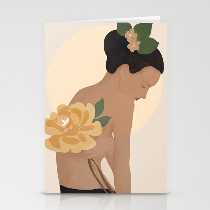 Gentle Beauty Stationery Cards
