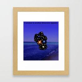 3D7 Framed Art Print