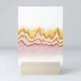 Pink Sand Land Mini Art Print