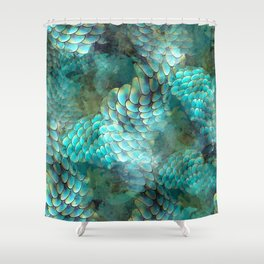 Mermaid Scales Shower Curtain