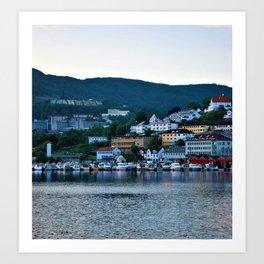 Bergen Norway Art Print