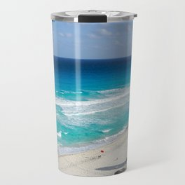 Beautiful Cancun Beach Mexico Landscape Travel Mug