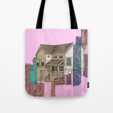house defromation Tote Bag