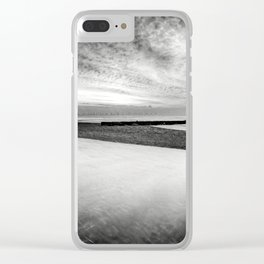 Welsh Lighthouse Storm Clear iPhone Case