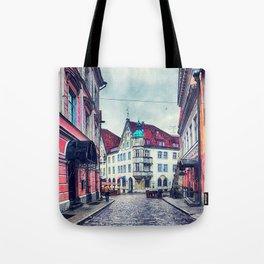 Tallinn art 11 #tallinn #city Tote Bag