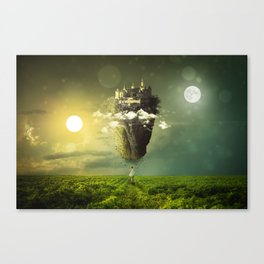 The Sun, The Moon, The Empire All Above Me Canvas Print
