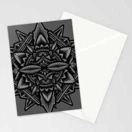 Sacred Geometry Flower of Life Mandala Stationery Cards