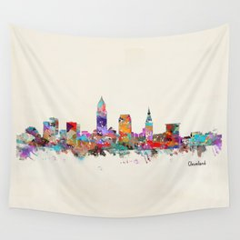 Cleveland Ohio Wall Tapestry
