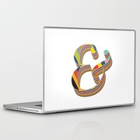 ampersand Laptop & iPad Skins featuring Ampersand by 1620studio