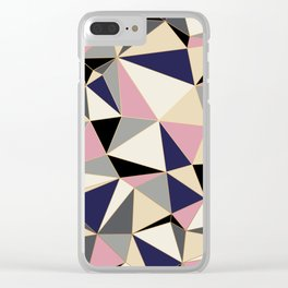Geometric Clear iPhone Case