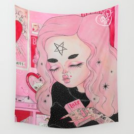 Our Lady of Broken Hearts Wall Tapestry