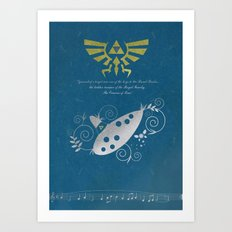 The Legend of Zelda - Wisdom Art Print