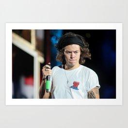 Harry Styles   One Direction Art Print