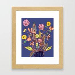 Belated Framed Art Print