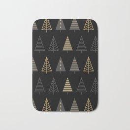MODERN CHRISTMAS TREES 2 Bath Mat