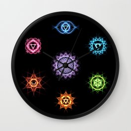 Wheels of Life Wall Clock