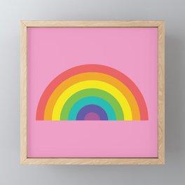 ROYGBIV Framed Mini Art Print