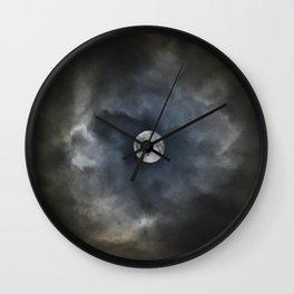Engulfed Moon Wall Clock