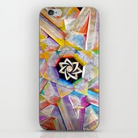 escher iPhone & iPod Skins featuring Escher Star by Todd Huffine
