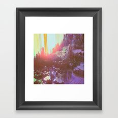 OPTICAL HAZE (everyday 04.19.17) Framed Art Print