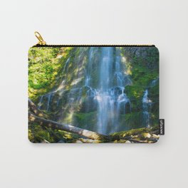 Proxy Falls - Waterfall In Oregon Carry-All Pouch