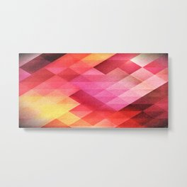 Fall pattern Metal Print