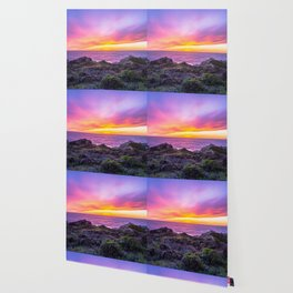 California Dreaming - Brilliant Sunset in Big Sur Wallpaper