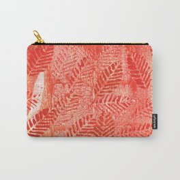 Bright red leaves Carry-All Pouch