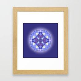 Harmony Mandala for your Inner Peace Framed Art Print