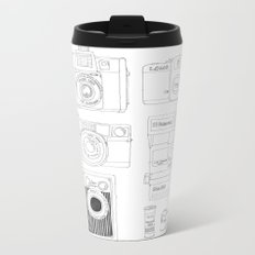 cameras Metal Travel Mug