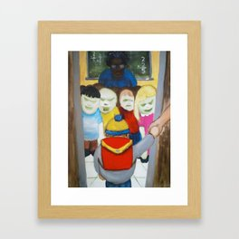 Indoctrination Framed Art Print