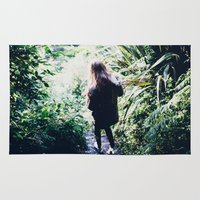 wander Area & Throw Rugs featuring Wander by Johnny Frazer