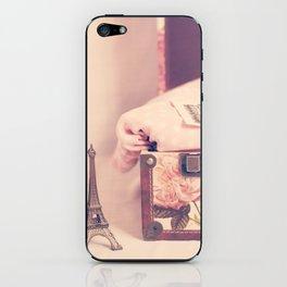 Eiffel Love iPhone Skin