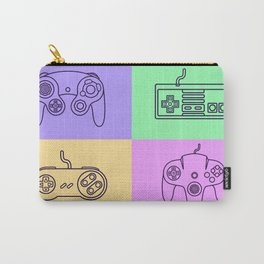 Nintendo Gaming Controllers - Retro Style! Carry-All Pouch
