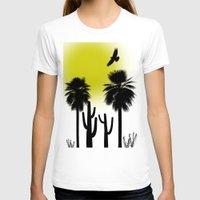 desert T-shirts featuring desert by Bamse