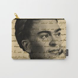 Letter Frida Kahlo Carry-All Pouch
