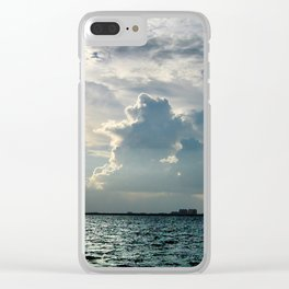 Coconut Grove Sailing Day Clear iPhone Case