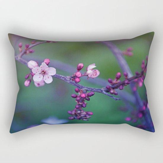 Dreamy purple Cherry Blossom Rectangular Pillow