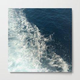 Sea Trails 2 Metal Print