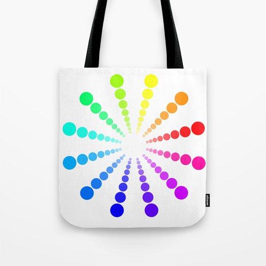 dots & circles o2 Tote Bag
