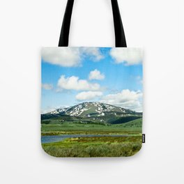 Yellowstone Mountain Tote Bag